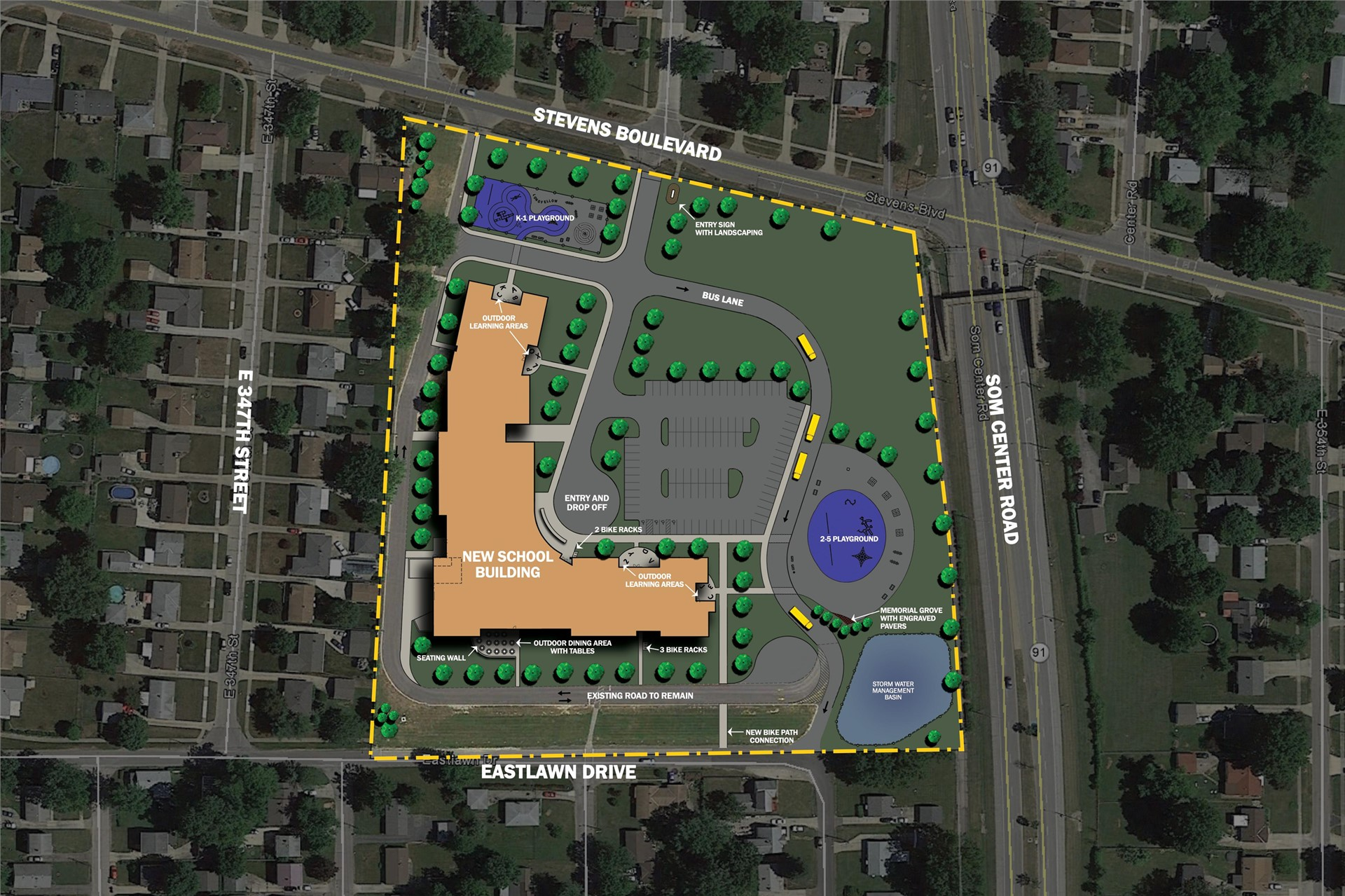 Longfellow Site Plan