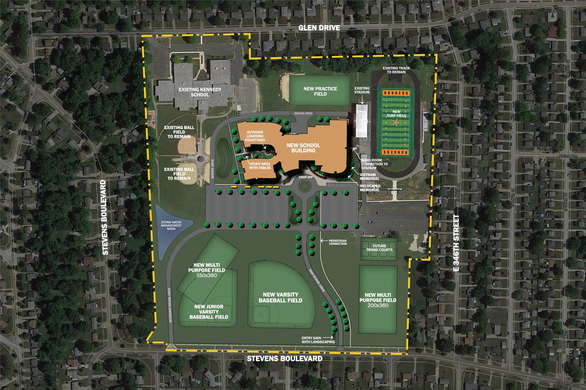 North High Site Layout