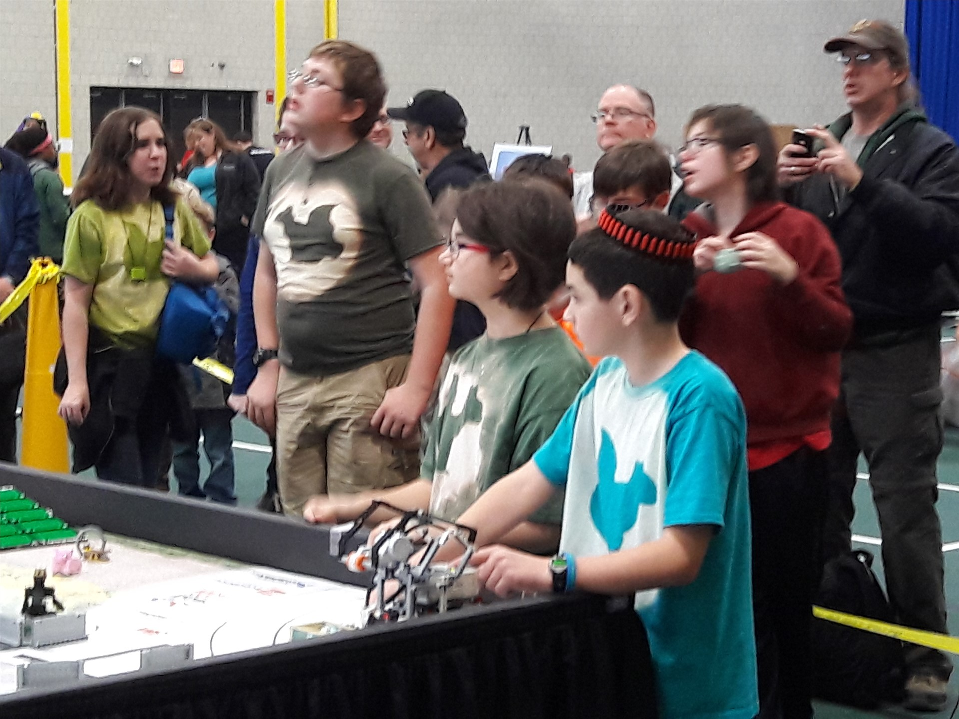 Team Legologist Running Their Robot