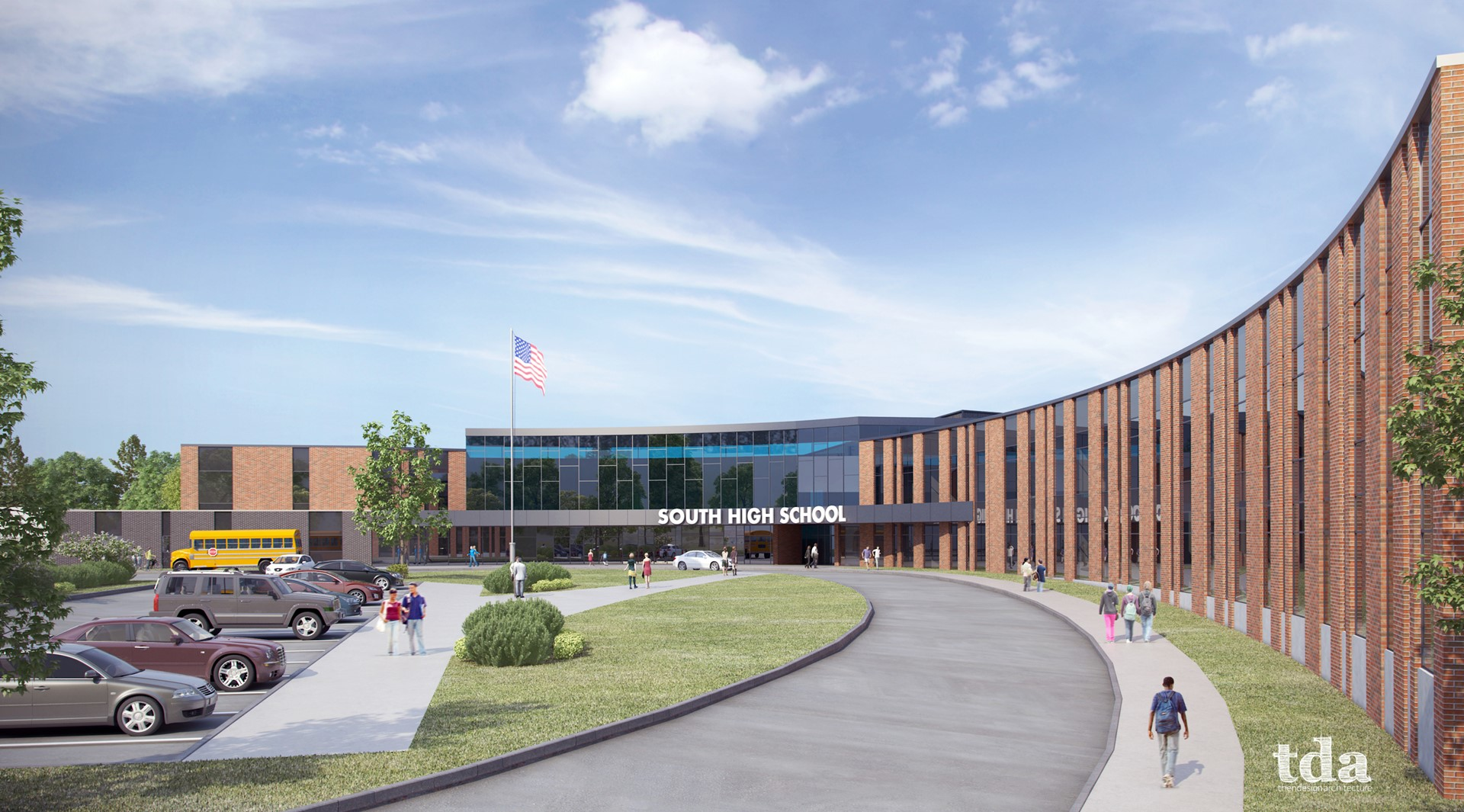 South Exterior Rendering