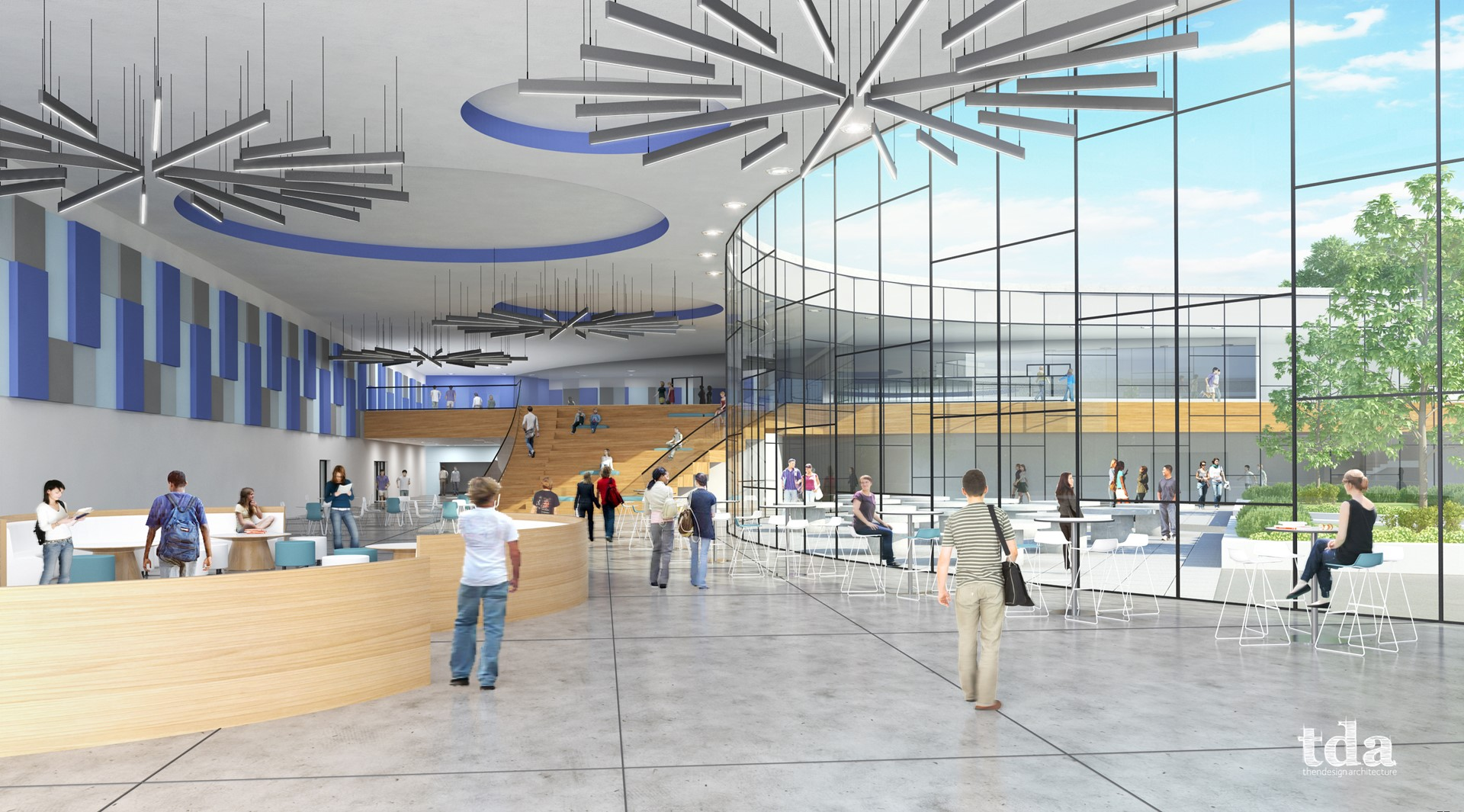 South Interior Rendering