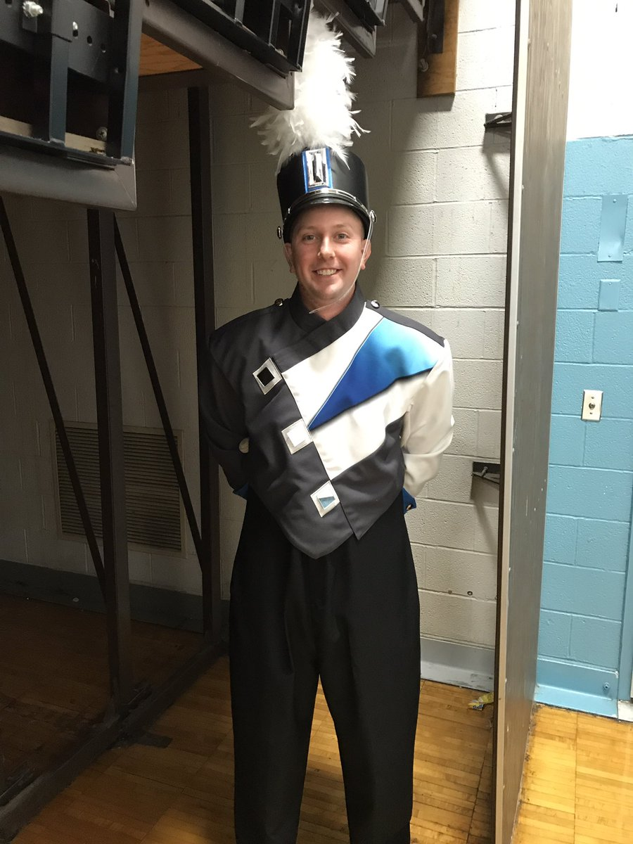 Who knew Mr. Weagley was a drum major?