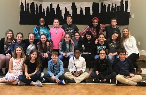 """The Rehearsal"" cast"