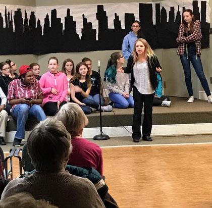 """The Rehearsal"" Breckenridge performance"