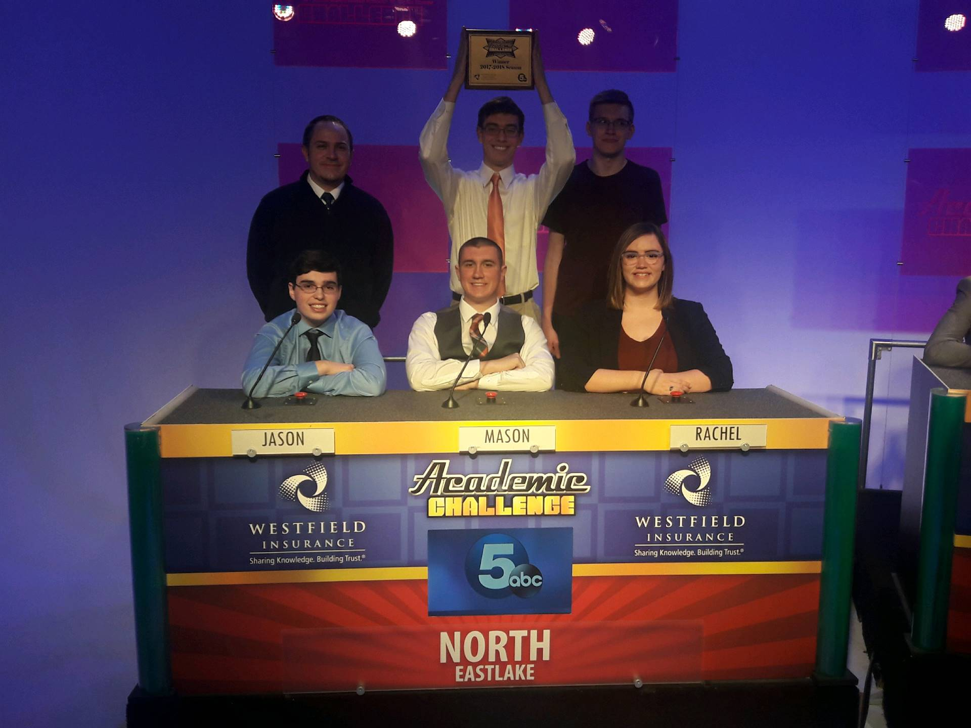 North High Quiz Bowl Champions