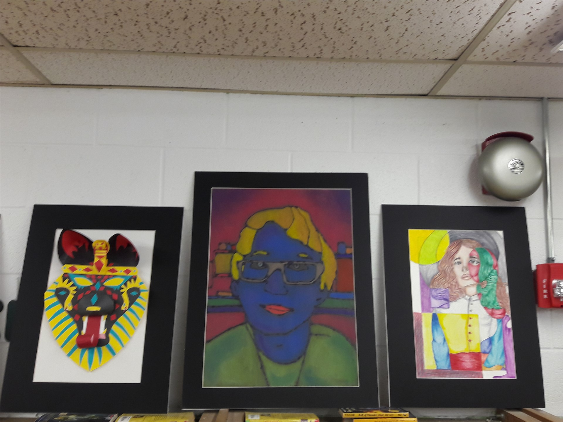 Sample of EMS Student Art Work accepted into the LGCSAA Show