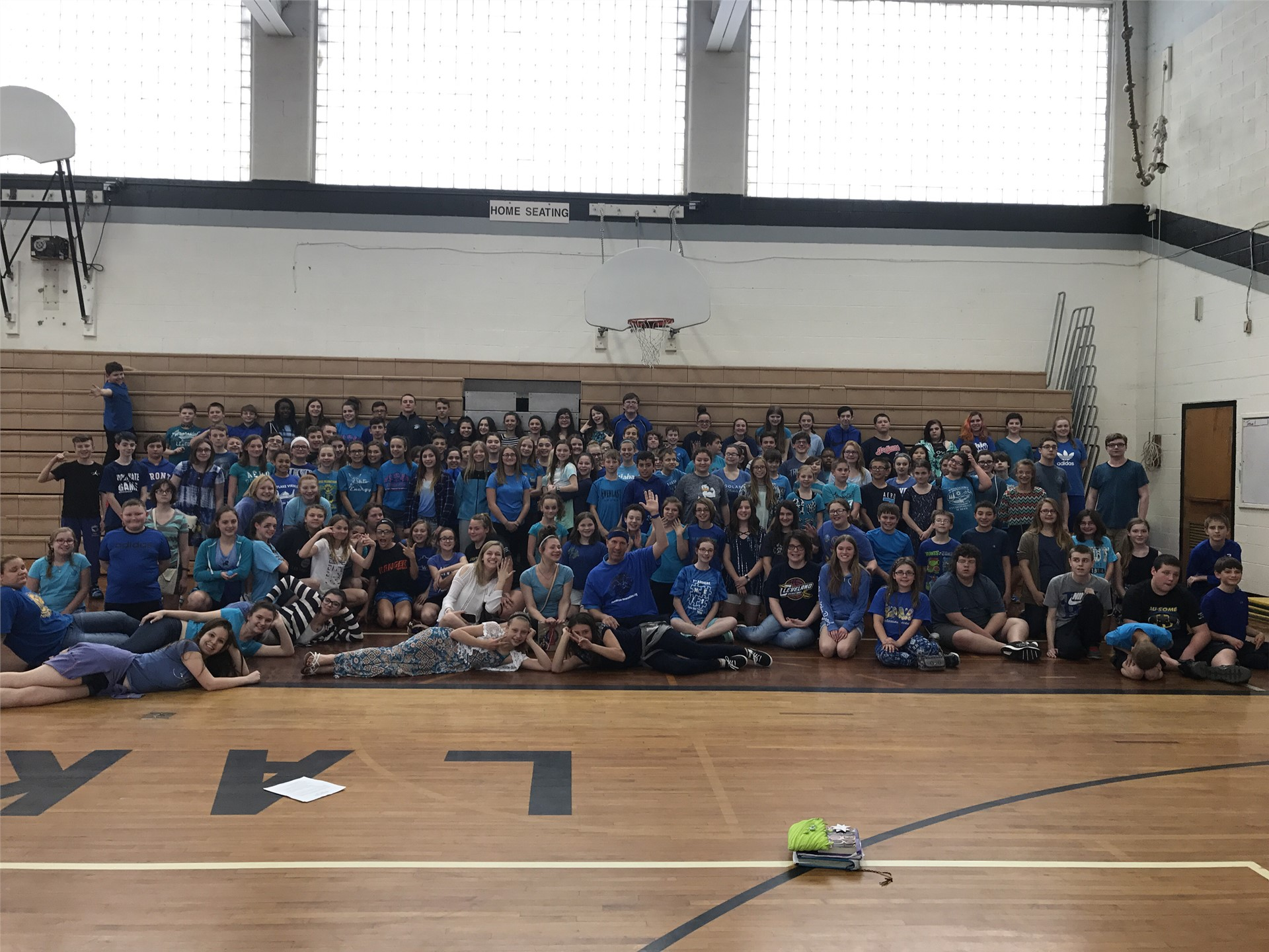Wearing Blue for Autism AwareNESS