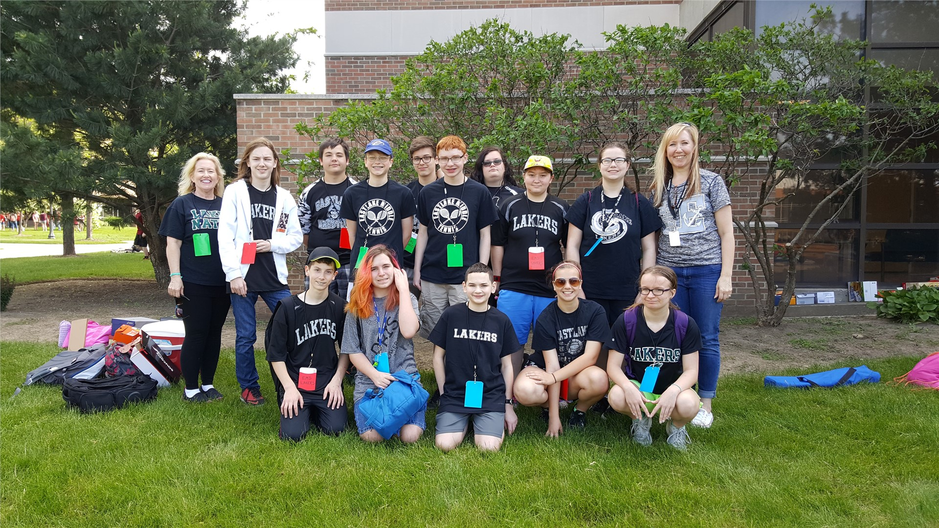 EMS Staff and Students at Kent State