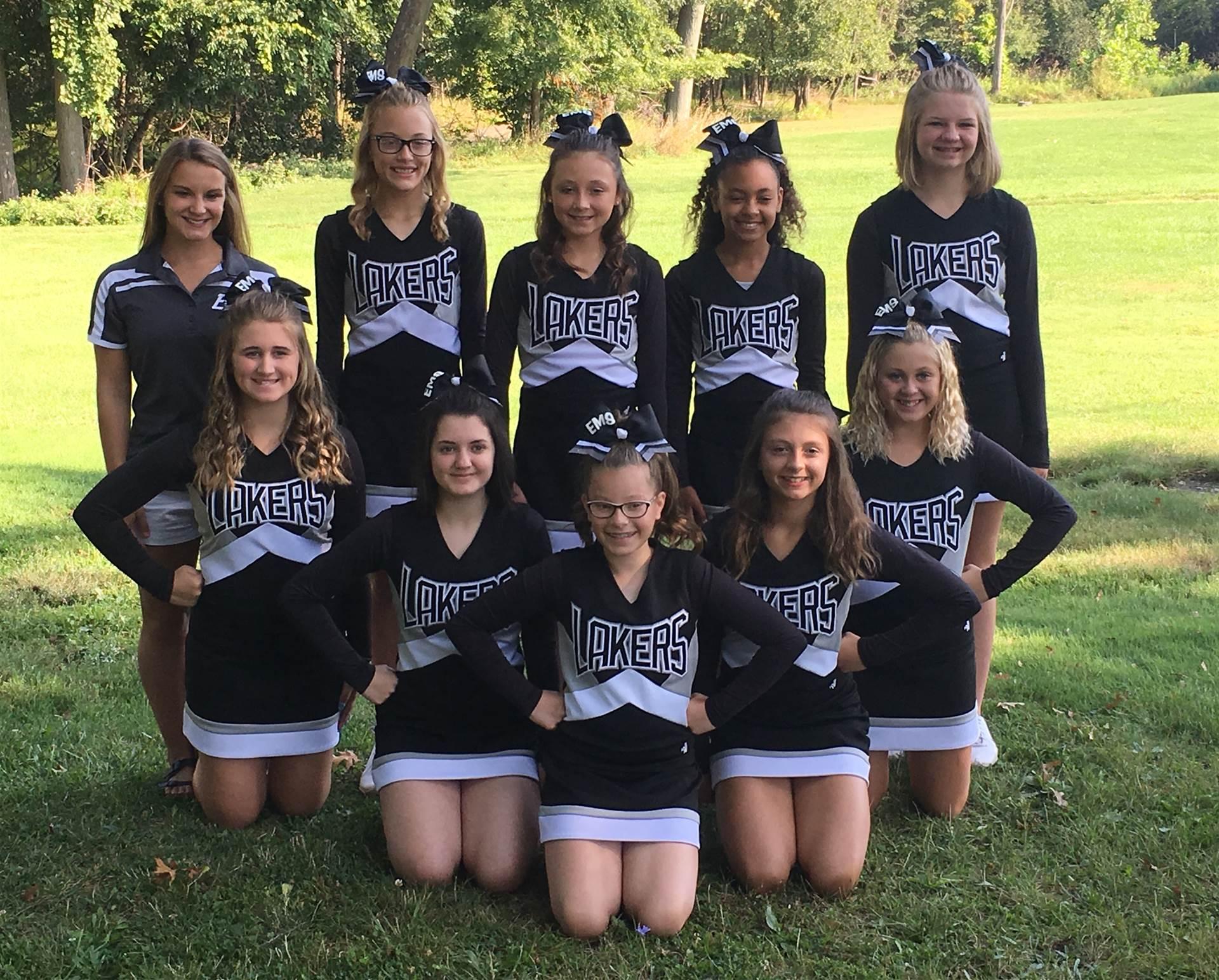 2017-18 Cheer Squad