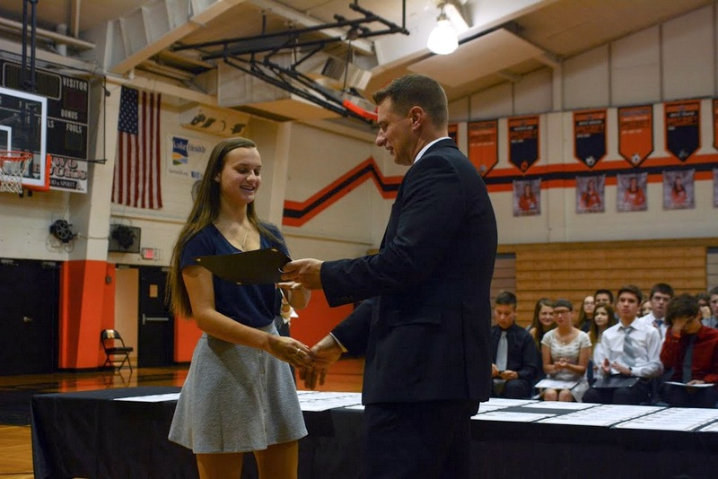 Attitudes Visible in School (A.V.I.S.) award recipient