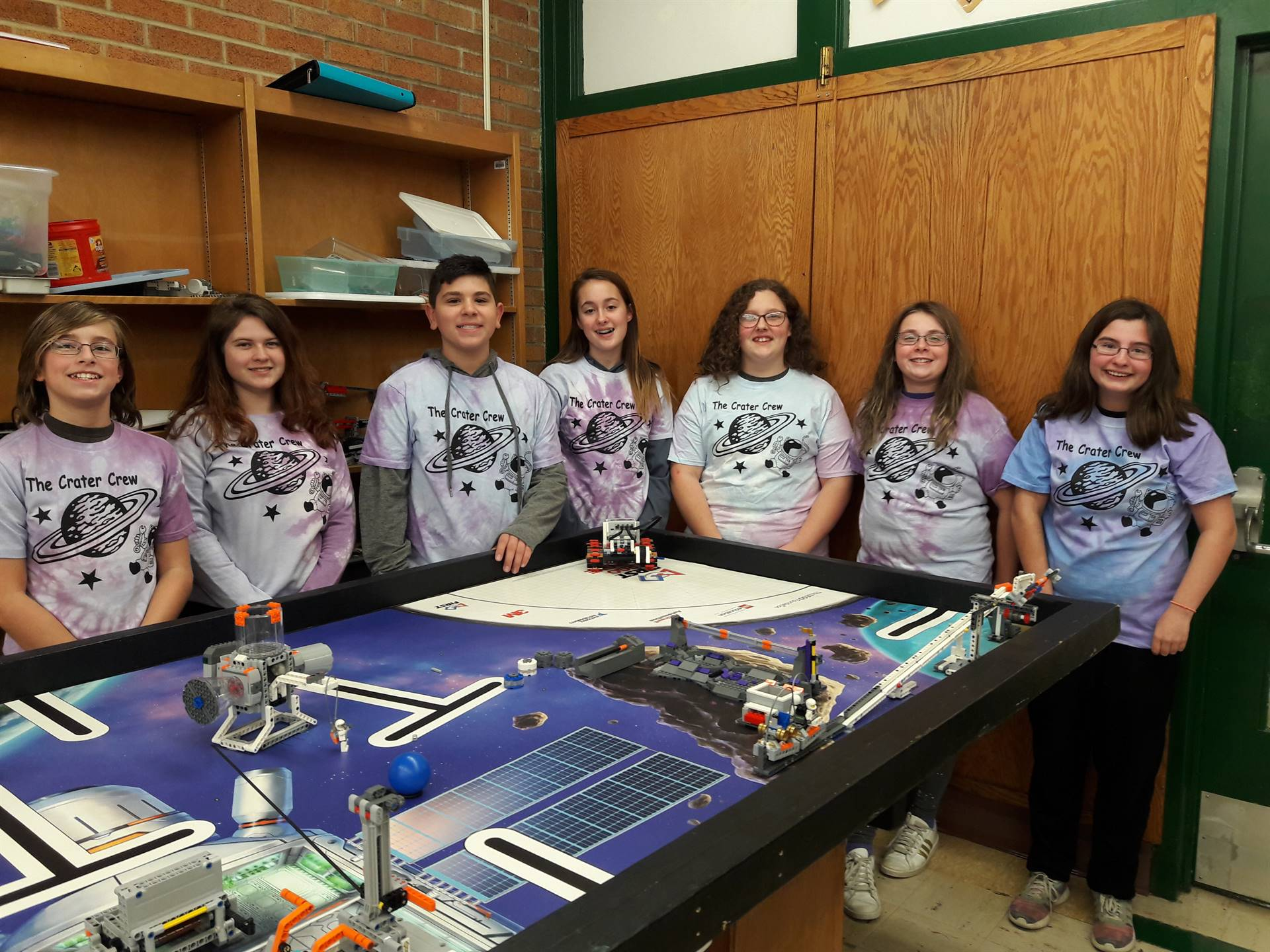 FIRST Lego League Team The Crater Crew