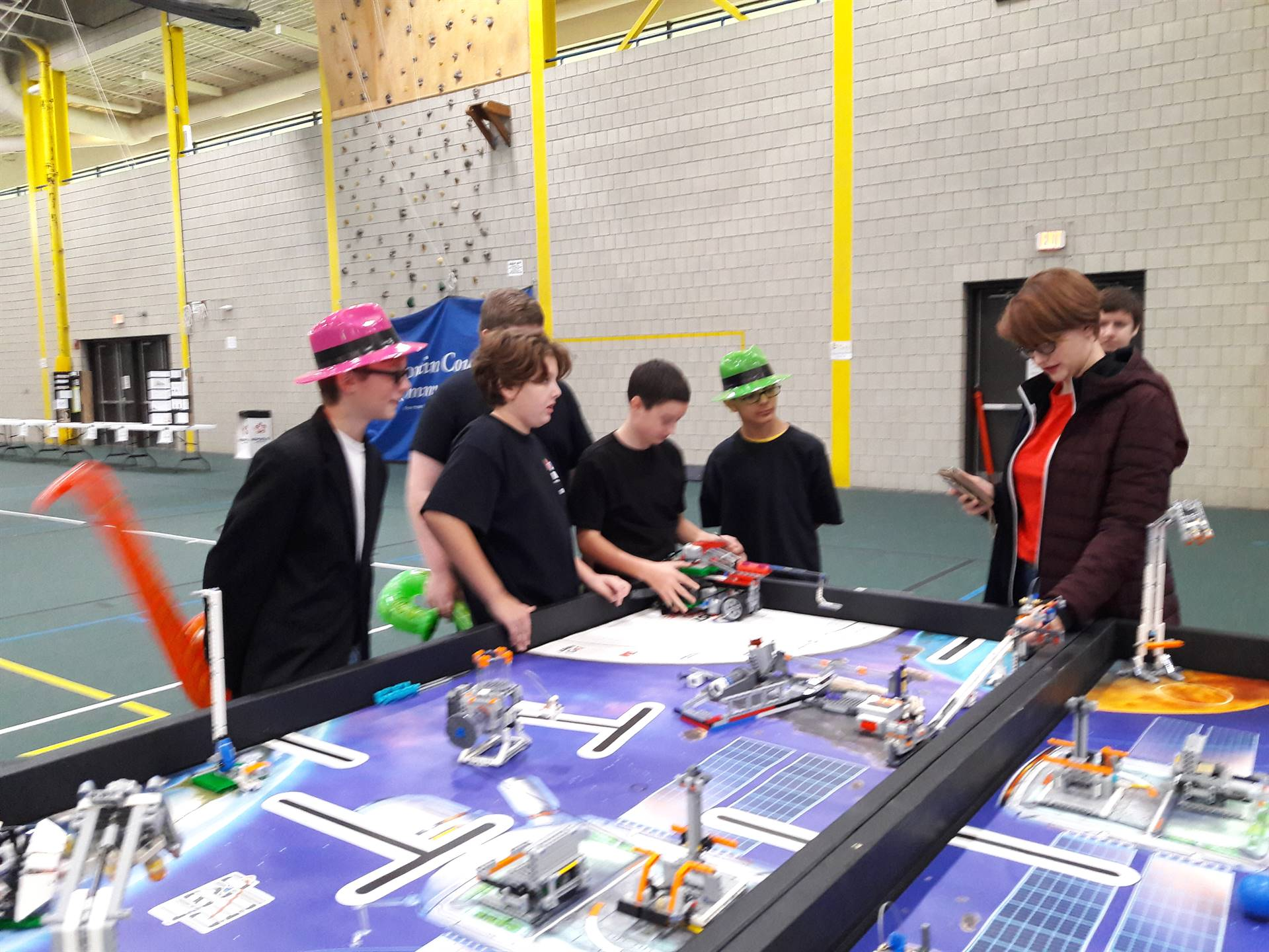 The 7th Grade FIRST Lego League