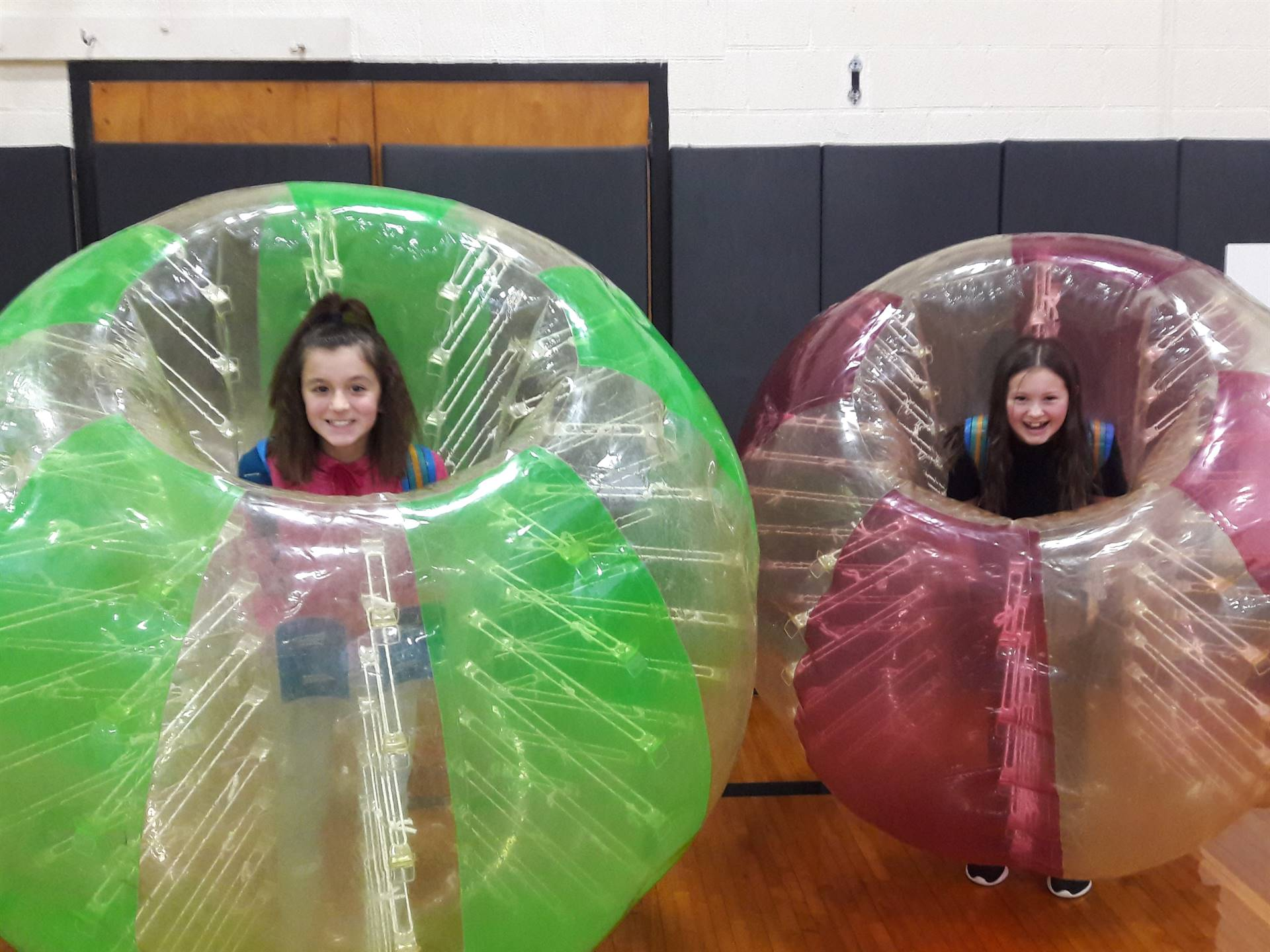 Ready for Bubble Ball Soccer!