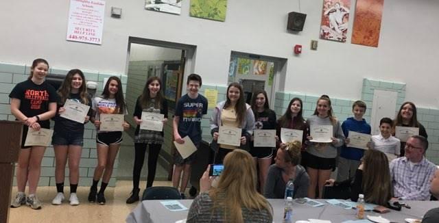 8th Grade Honors Breakfast