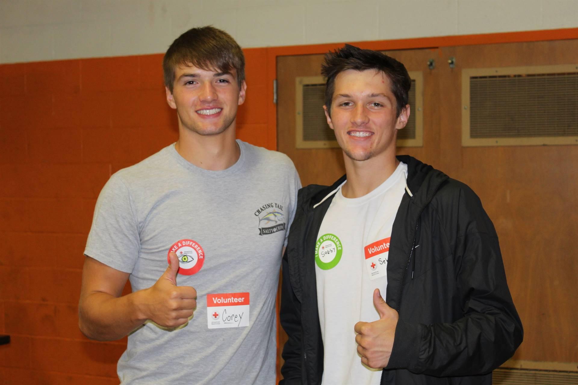 Blood Drive Volunteers