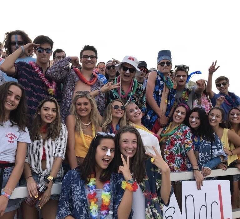 Awesome Student Section!
