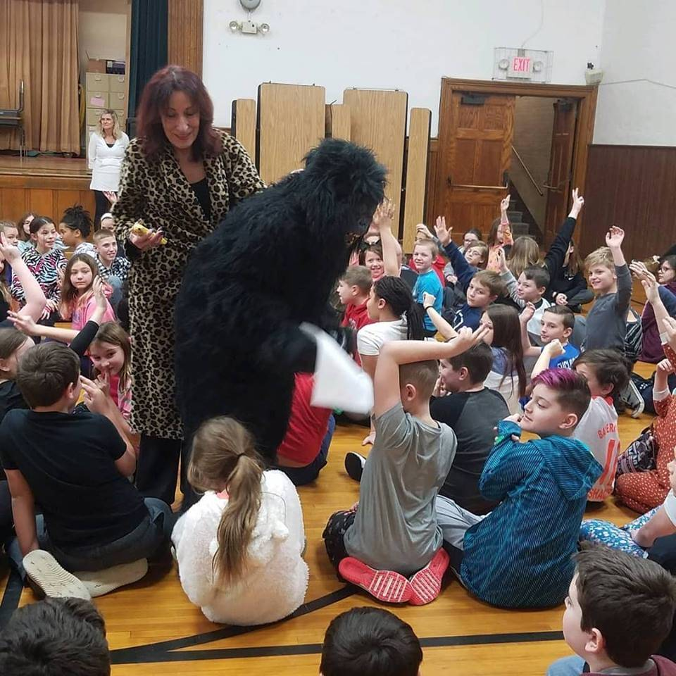 One School One Book Kick Off Assembly
