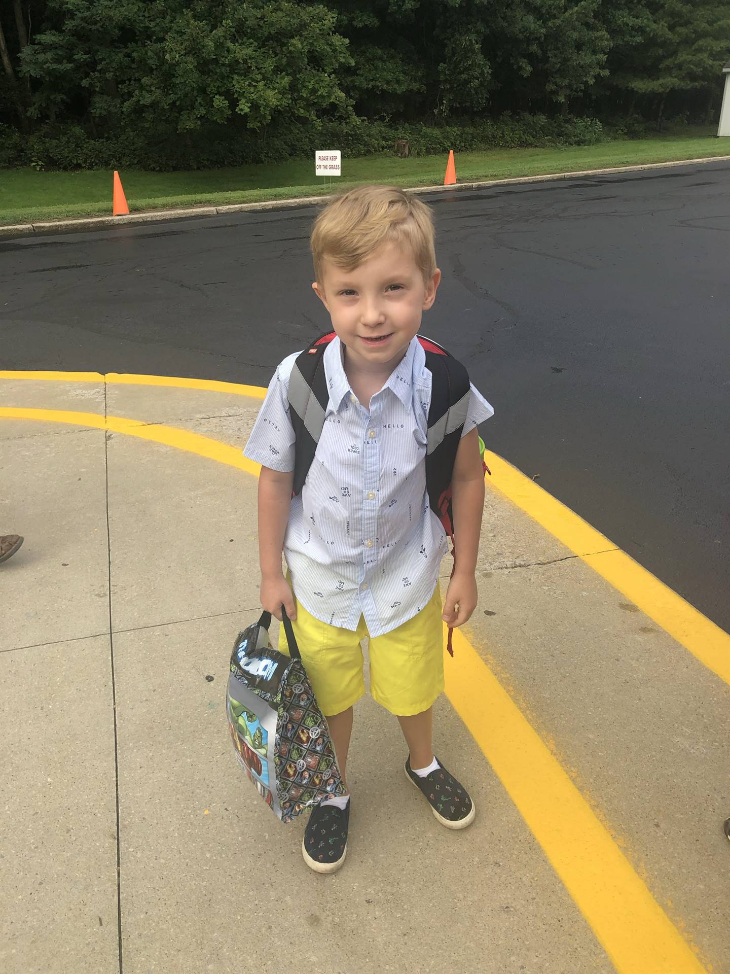 First days of school!