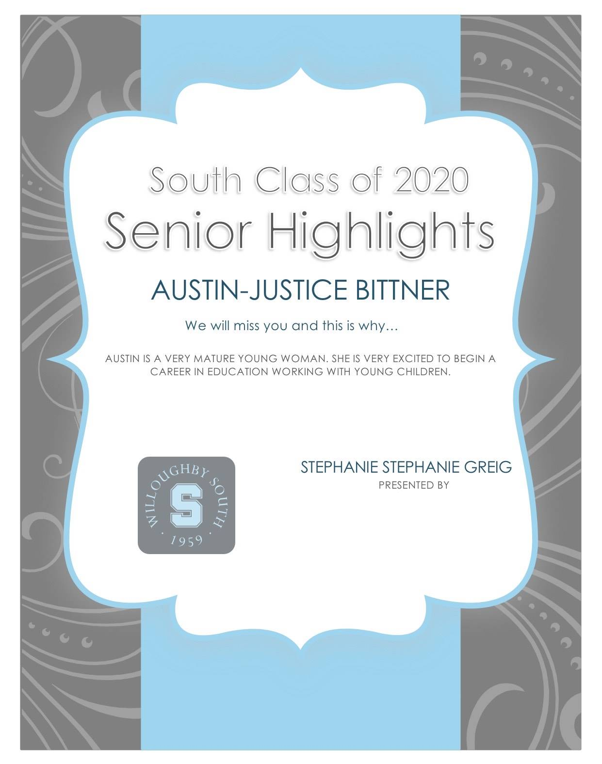 Austin -Justice Bittner