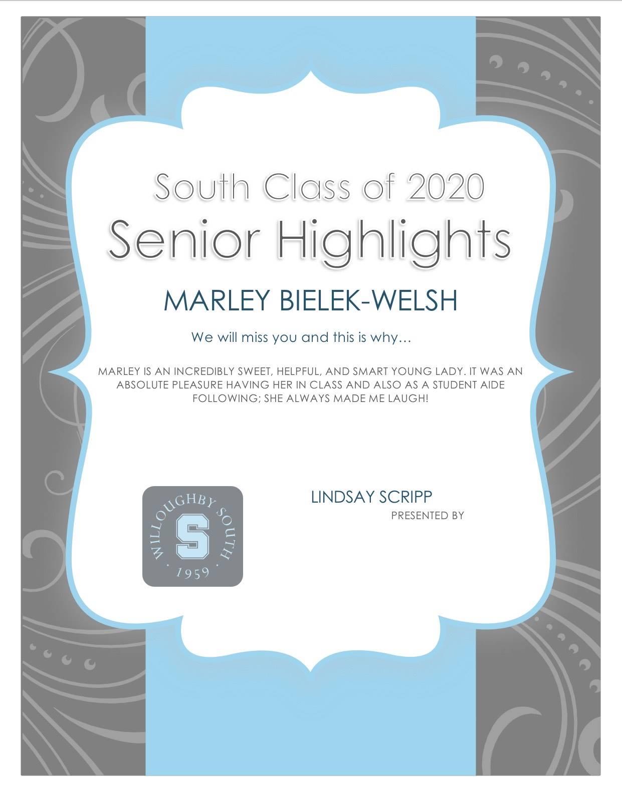 Marley Bielek-Walsh