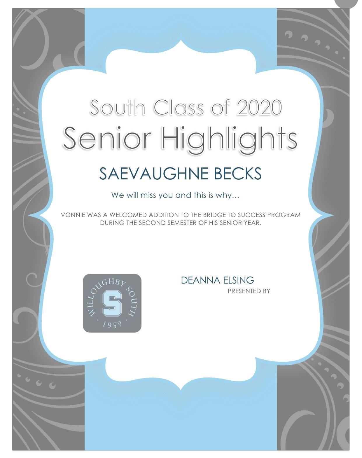 Saevaughne Becks