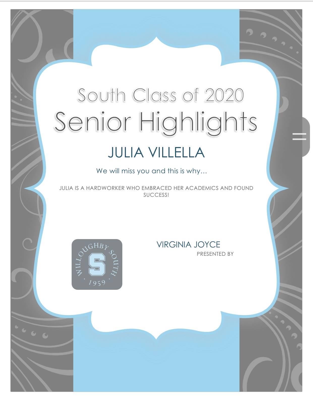 Julia Villella