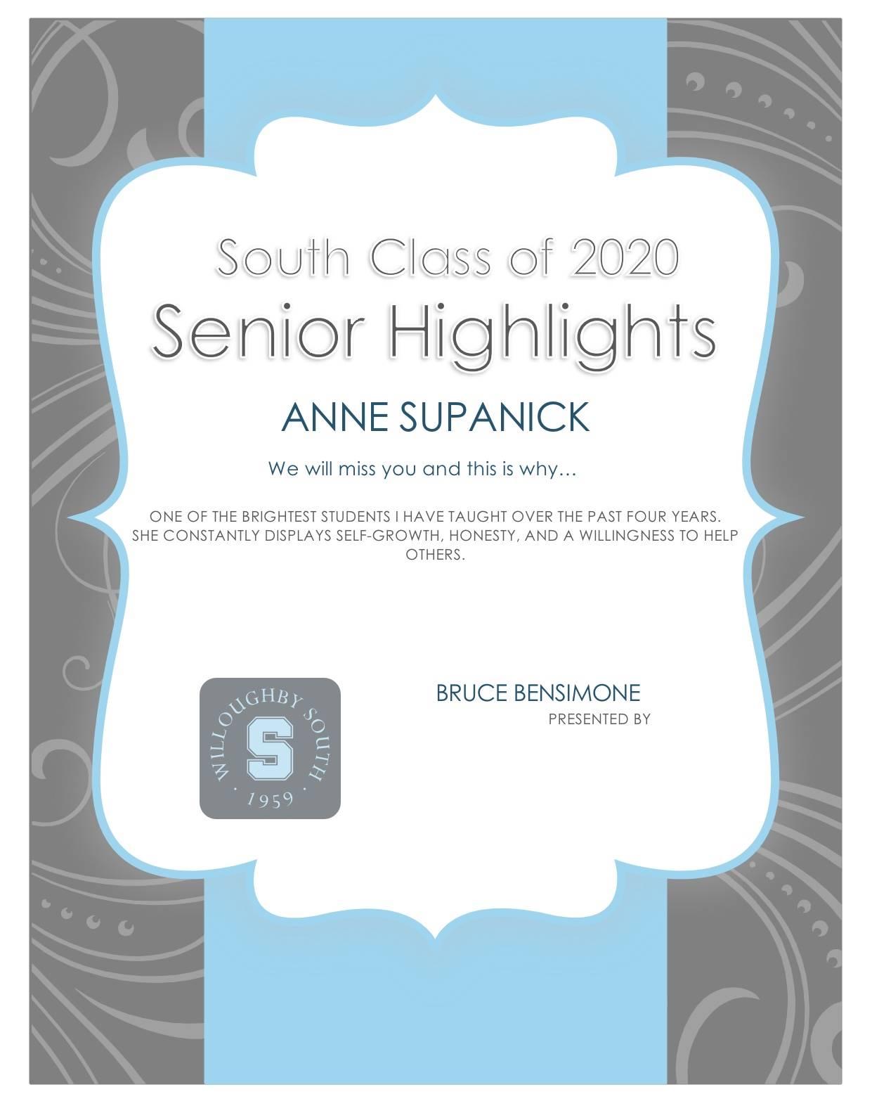 Anne Supanick