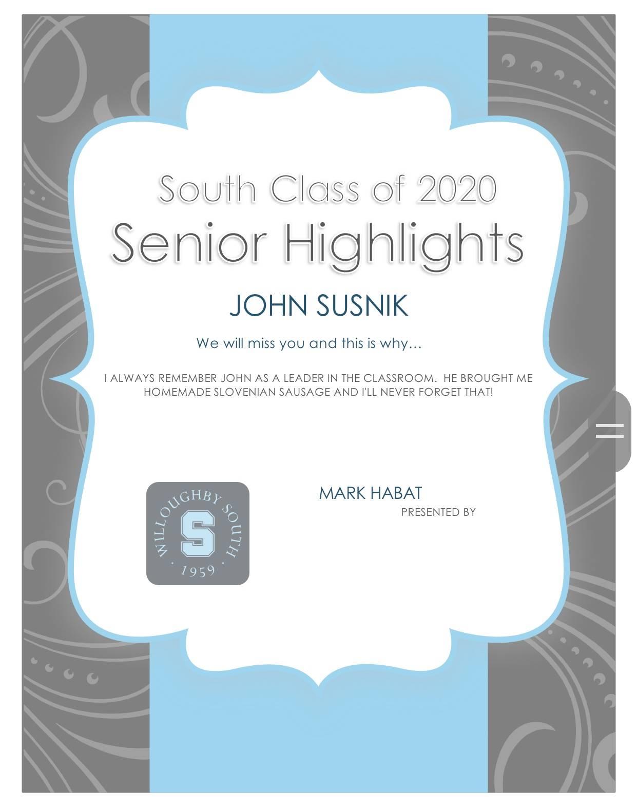 John Susnik