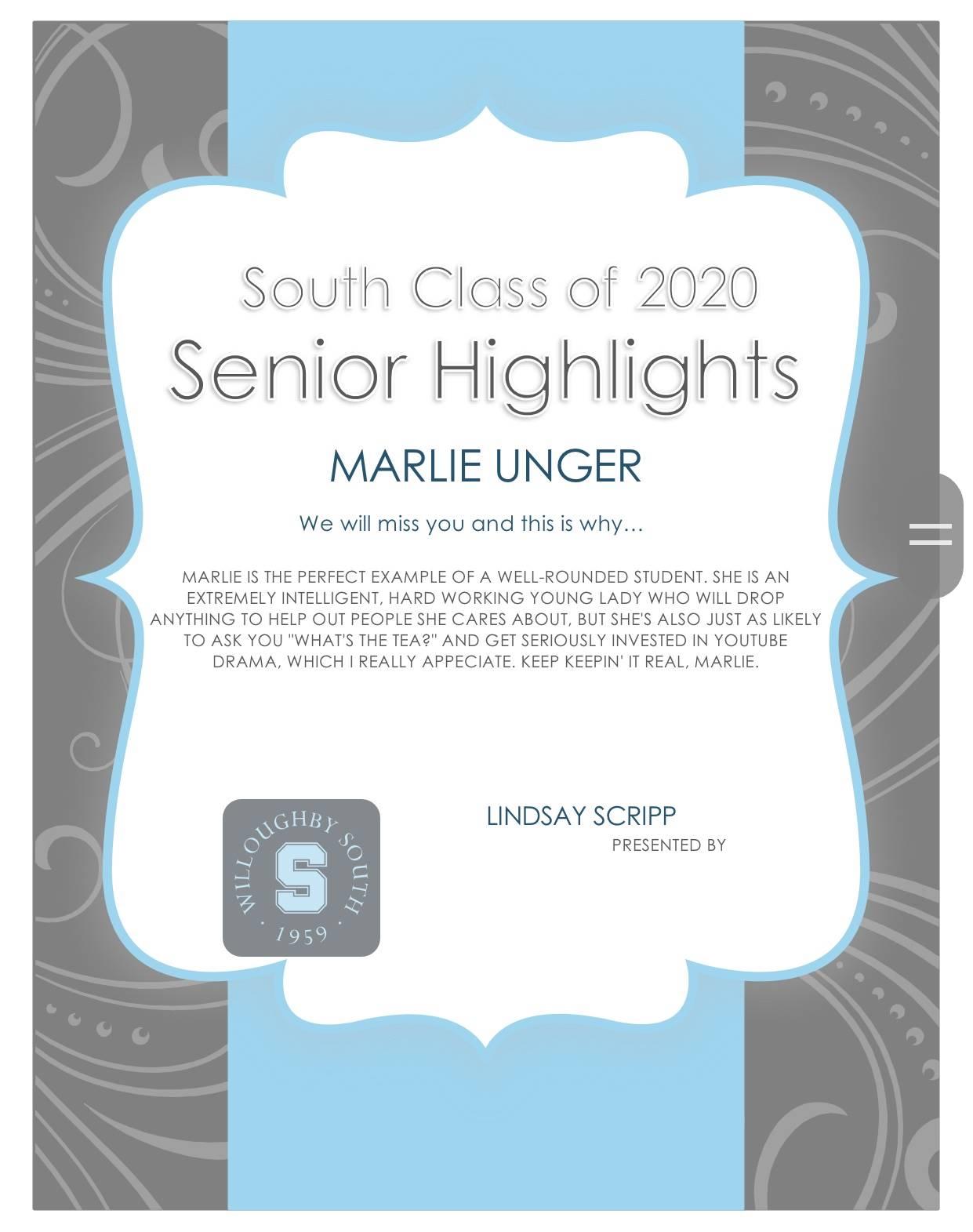 Marlie Unger