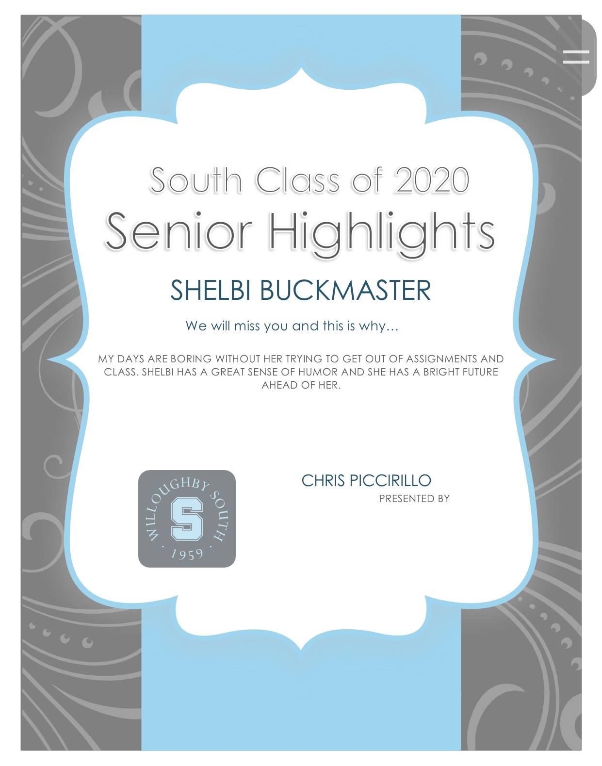 Shelbi Buckmaster