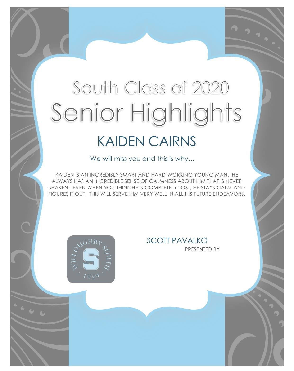 Kaiden Cairns