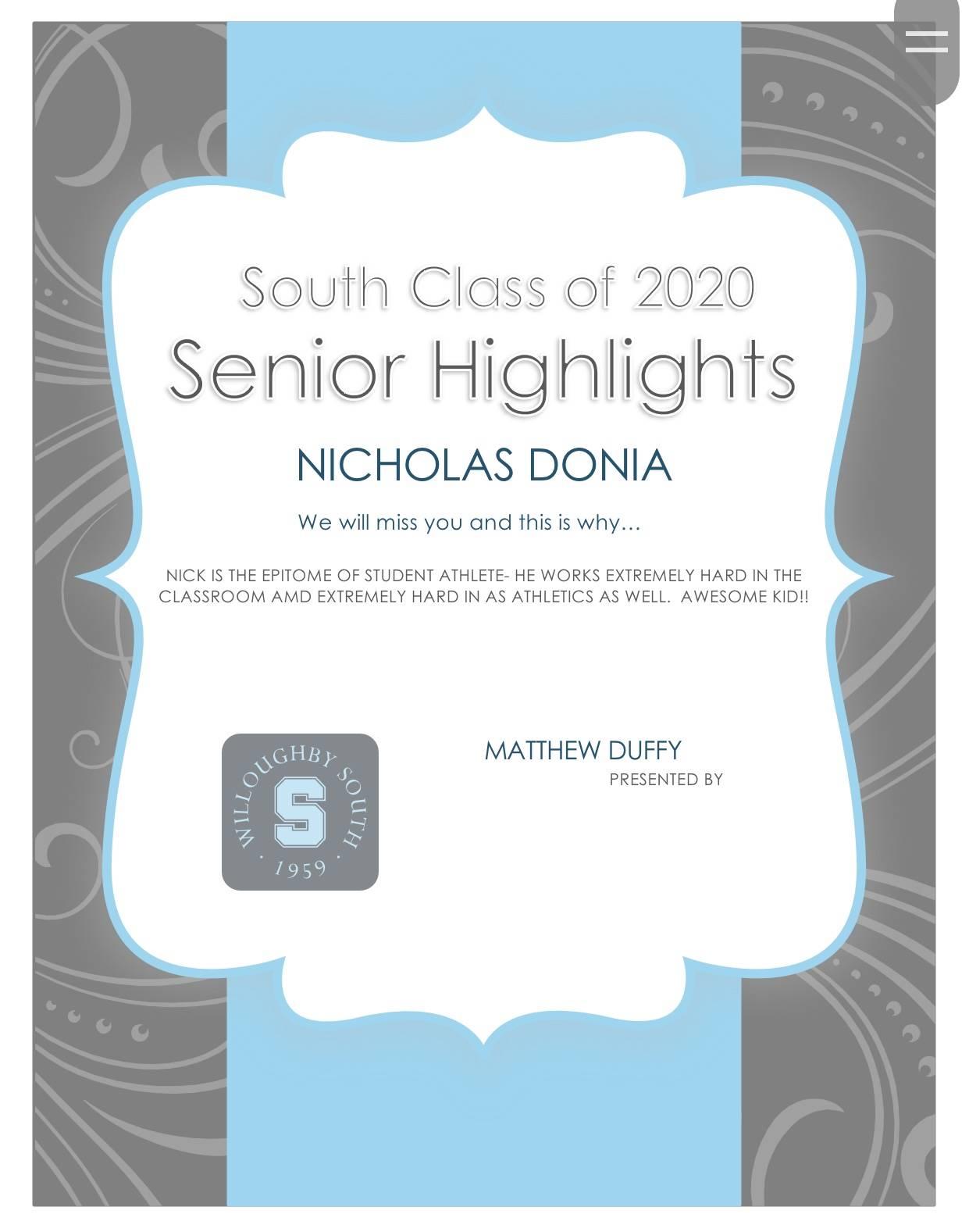 Nicholas Donia