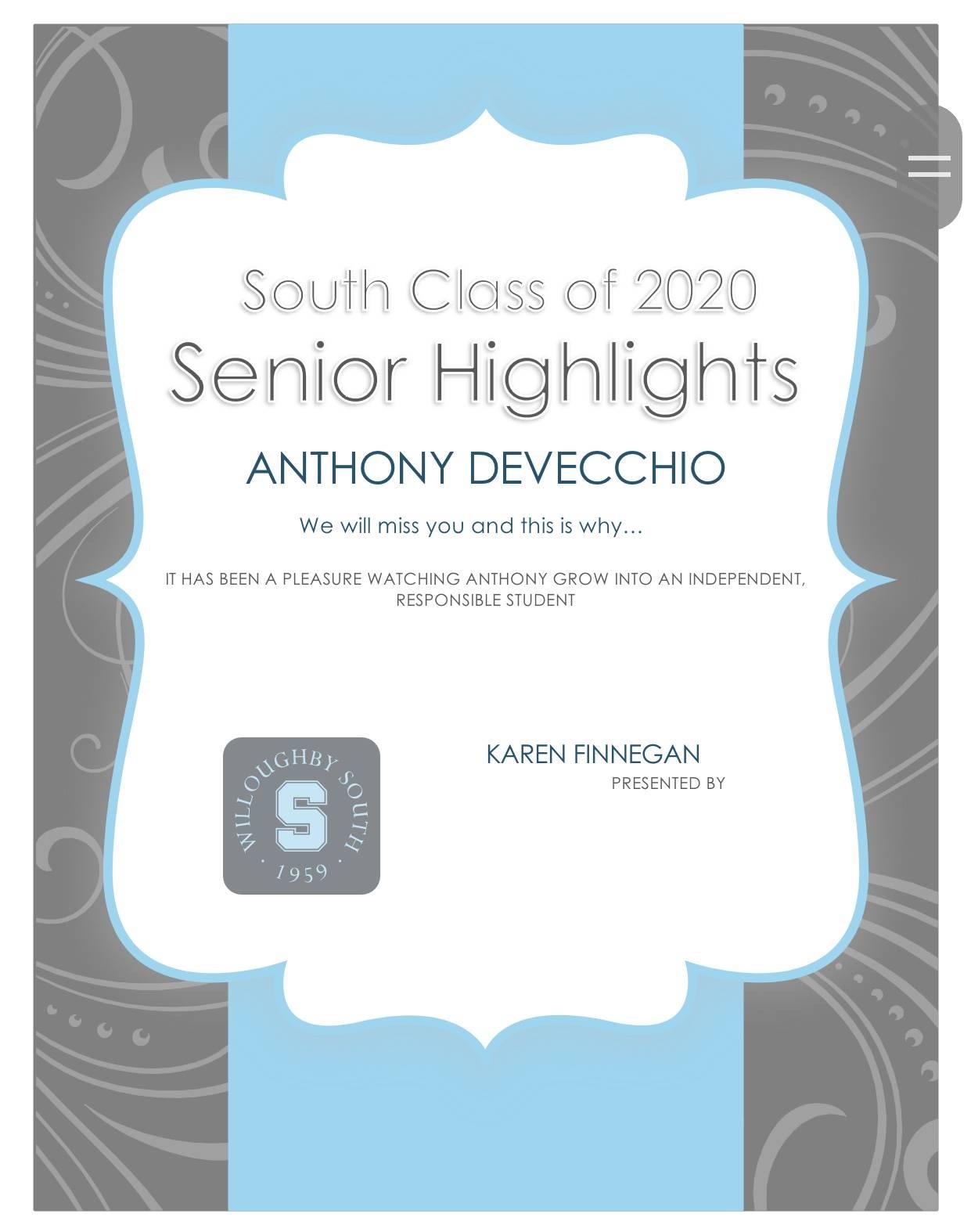 Anthony Devecchio