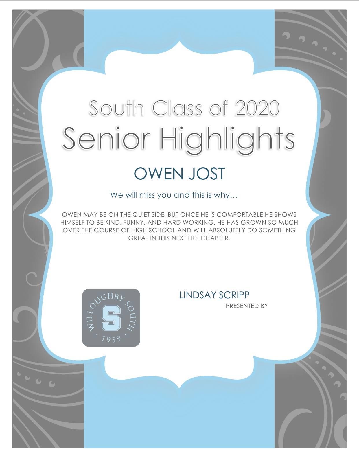 Owen Jost