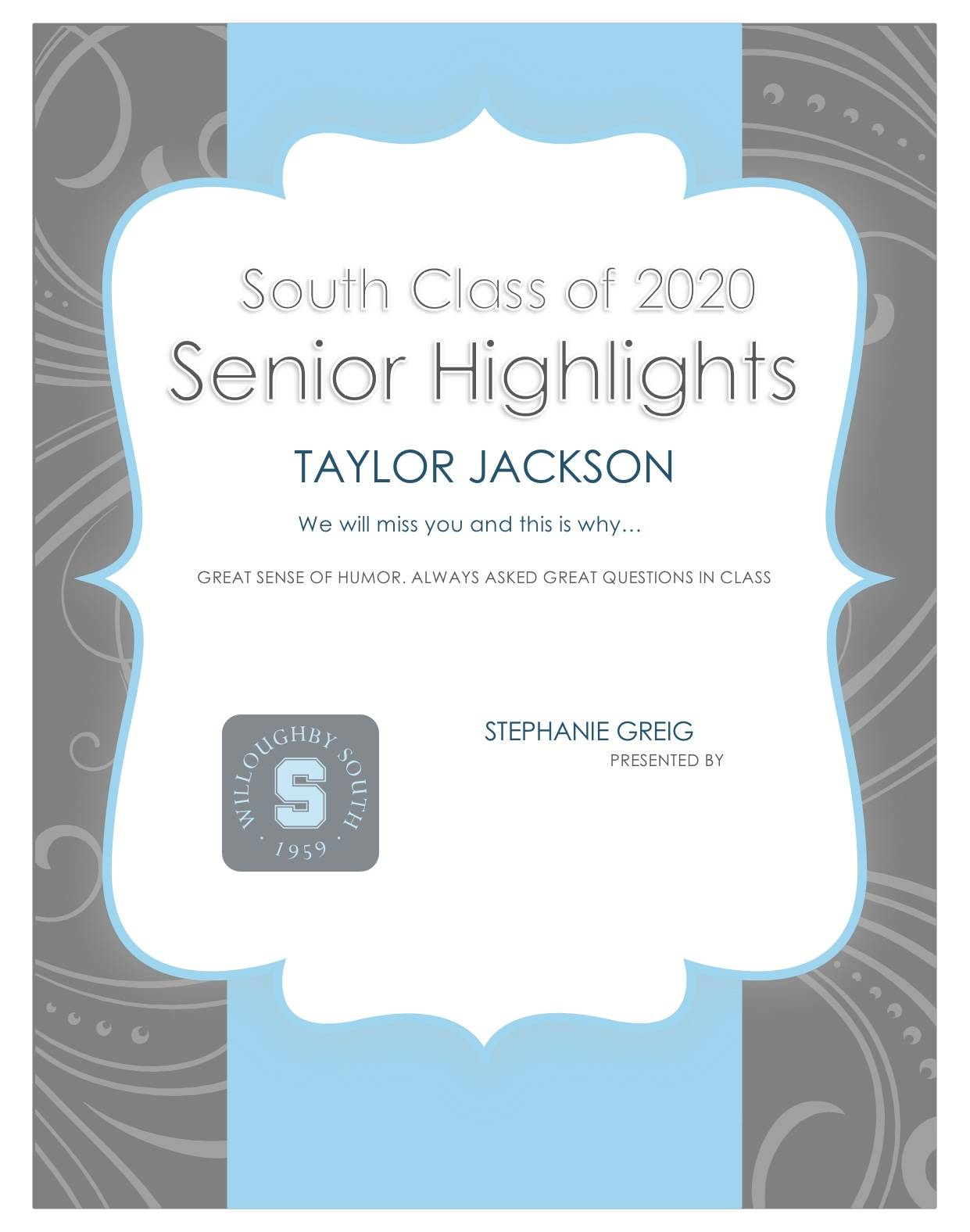 Taylor Jackson