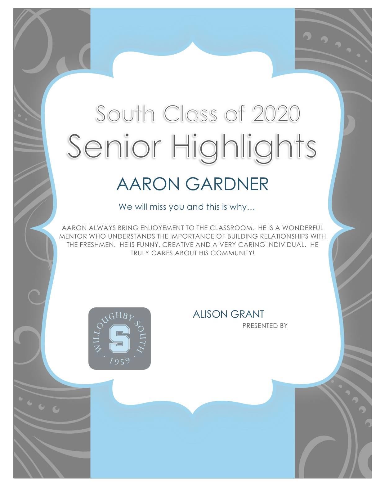 Aaron Gardner