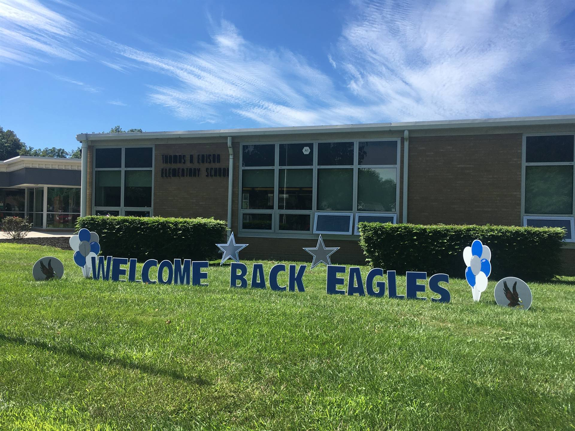 Welcome Back Edison Eagles!
