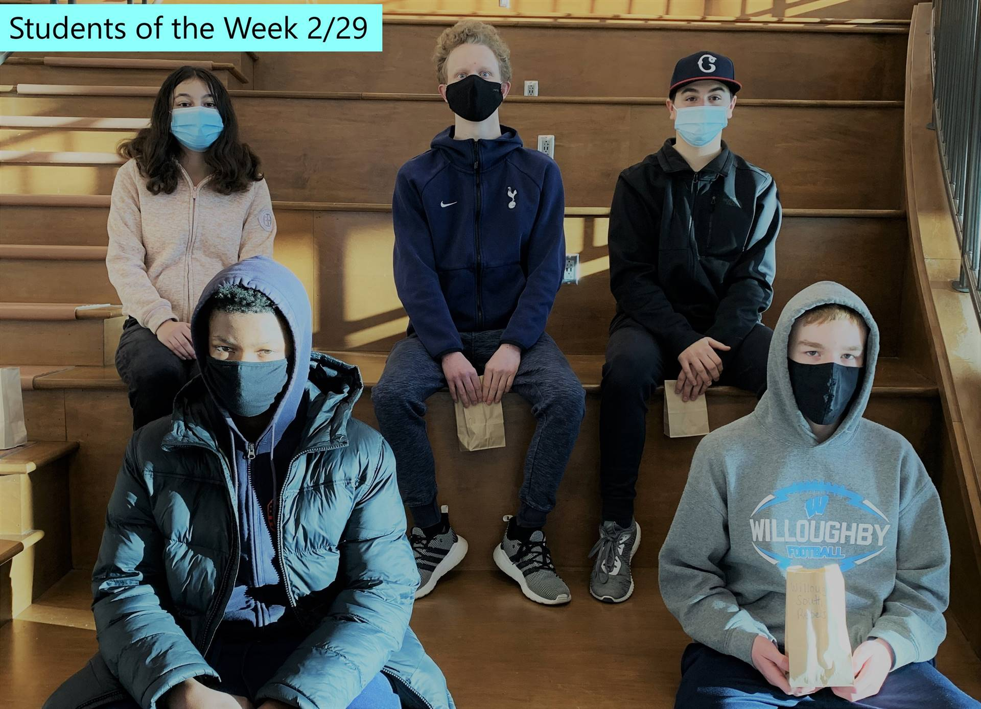 Students of the Week 2/28