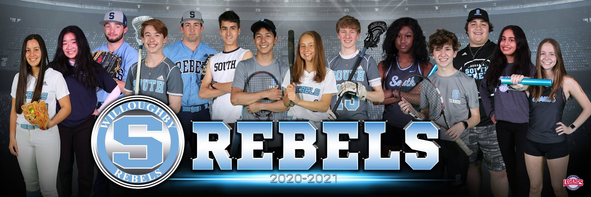 South Spring '21 Sports Banner