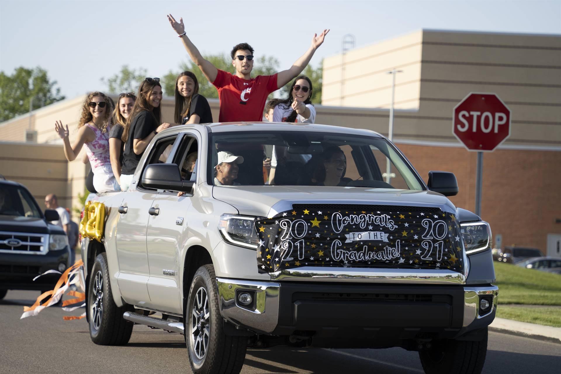Senior Car Parade