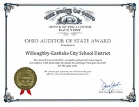 Auditor of State Award  - FY 2016