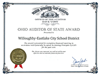Auditor of State Award - FY 2015